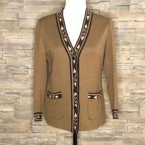 Everest brown vintage cardigan